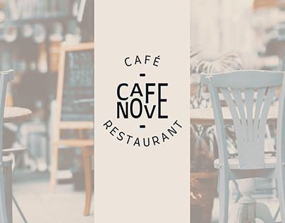 Café Restaurant Identité visuelle Branding