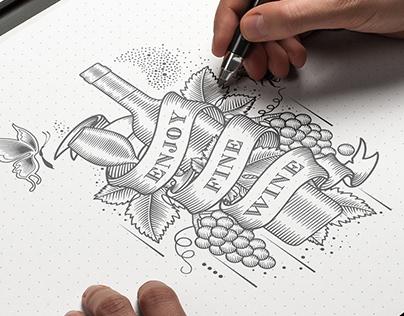 RED WINE PACKAGING DESIGN红酒包装设计