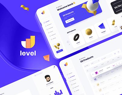 Saas Product Level   Web & Mobile app   UX/UI Design