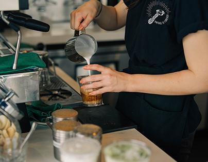 Vintage Coffee Apparel Design