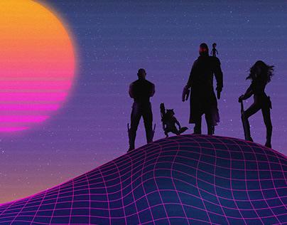 Les Gardiens de la Galaxie /// Retrowave
