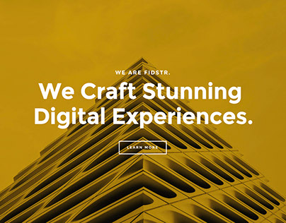 Digital design agency site