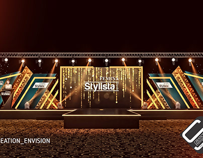 Gala Night with Fashion show stage concept