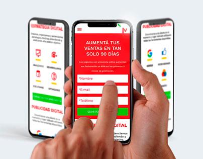 Tu Agencia de MKT Digital - Landing Mobile