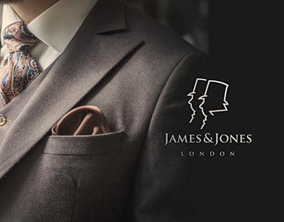 James & Jones Kings Road Tailors - Identity & Branding