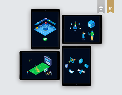 Isometric Illustrations.