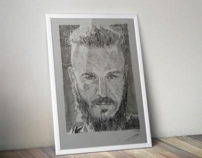 Ragnar lothbrok  de la série Vikings