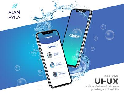 Bubbleinc. UX-UI App V1.0