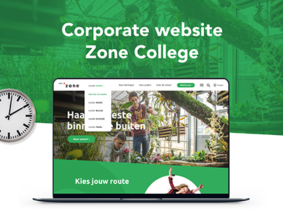 Corporate website Zone College