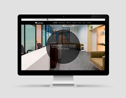 Ammma, sitio web