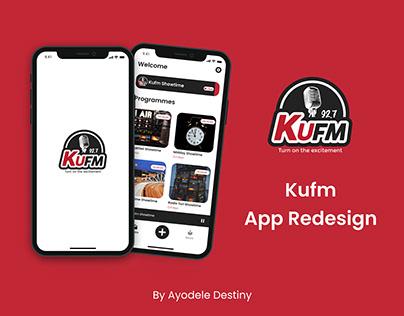 Kufm App Redesign