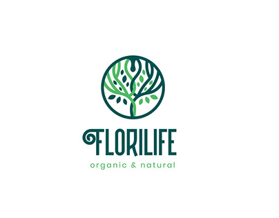FloriLife Logo Branding