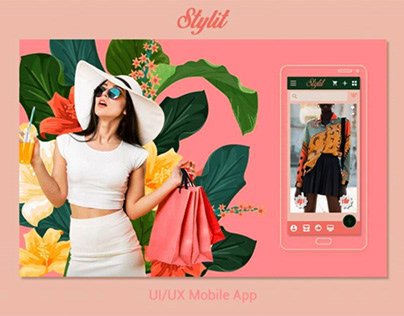 Stylit - Shopping App - UI UX