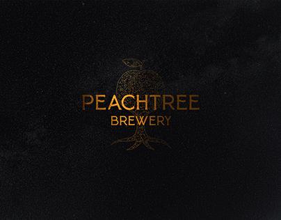 Peach Tree Brewery Branding