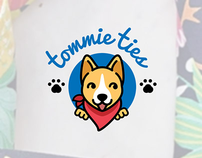 Tommie Ties Logo Design