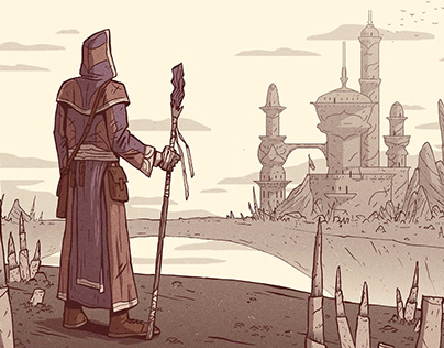 Morrowind illustrations
