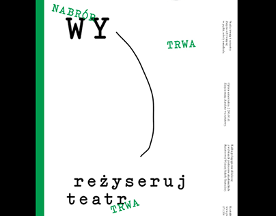 Visual Identity System for National Academy of Theatre