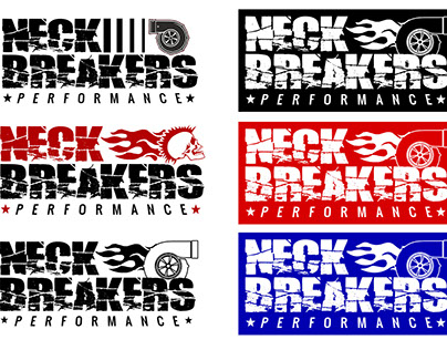 Logo for new business - Neck Breakers Performance