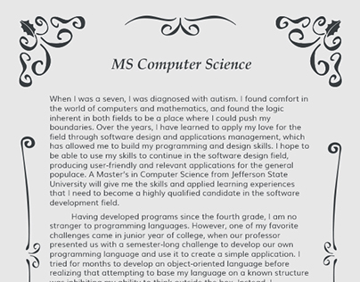 sop for msc in computer Your statement of purpose computer science has to make you stand out studying for an ms in computer science or any other degree will give your career a huge boost but first, you need to be chosen for a place.