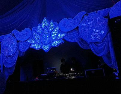 Like a wedding party | LED decoration