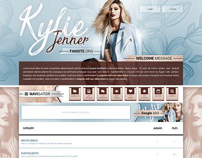 Kylie Jenner Fansite // Coppermine Premium Theme - 2017
