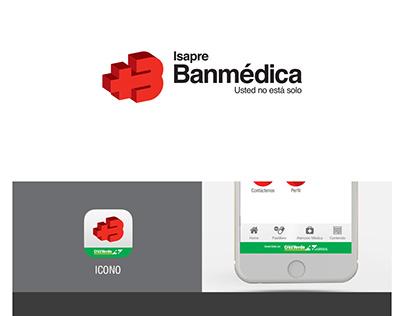 Banmédica / Cruz Verde UI propuesta app nativa mobil
