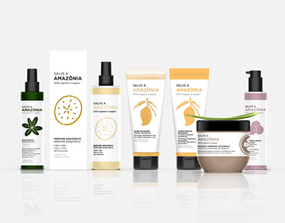 Salve A Amazônia | Packaging for Cosmetics