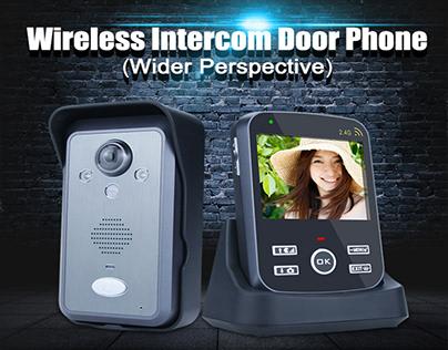 Wireless Intercom Door Phone - NCS