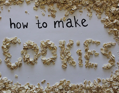 Stop Motion: How to Make Cookies