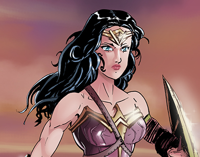 Wonder Woman Color Sample
