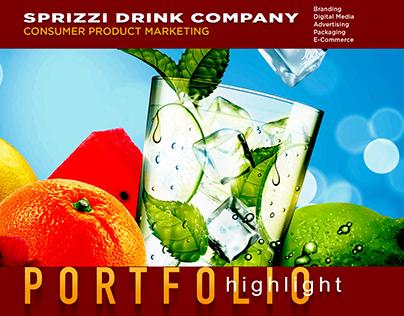 SPRiZZi Drink Company | Branding | CPG | Design