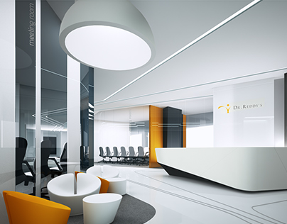Проект офиса doctor Reddy's г.Киев