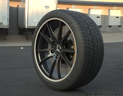 Tyre Shader Progression (FULL CGI)
