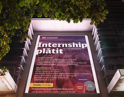 Internship job poster