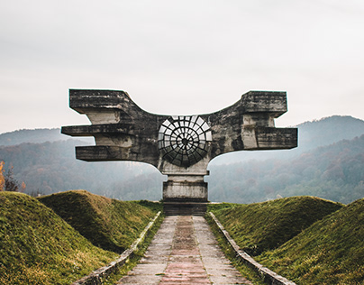 Abandoned Croatia - Monument to the Revolution