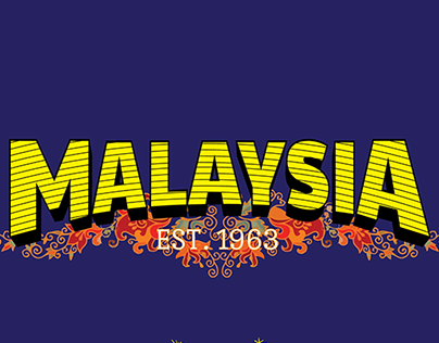 Lettering - Malaysia, since 1963