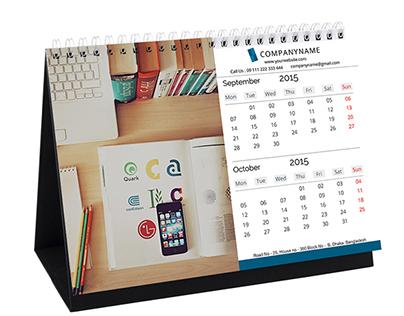 2015 Corporate Desk Calendar Design on Behance