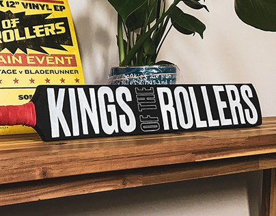 Kings of the Rollers Cricket Bat