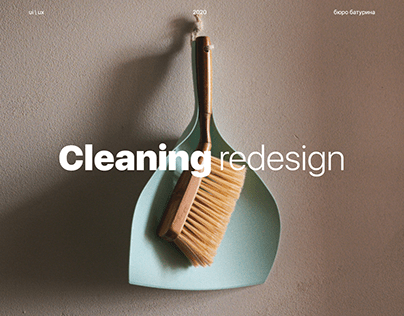Cleaning landing page
