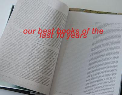 Retrospective editorial design