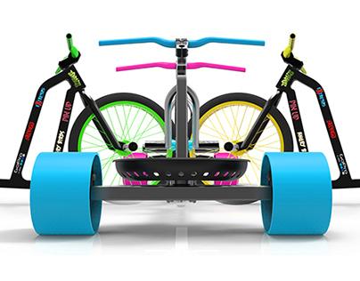 Live Extreme like Vosgien, Drift Trike