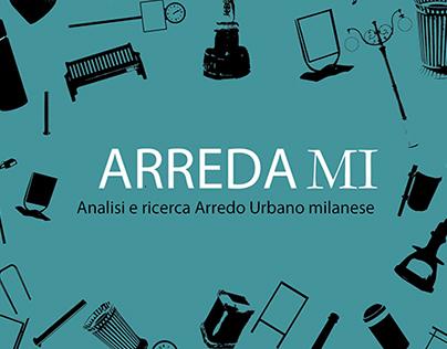 ARREDAMI - Arredo urbano milanese