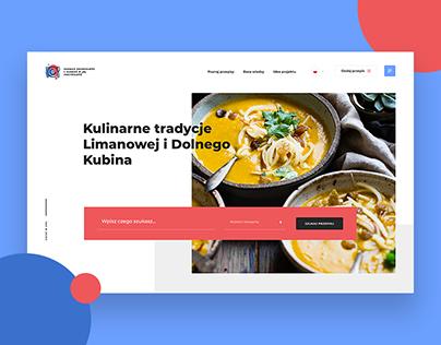 Regional recipes from Poland and Slovakia - Logo&Web