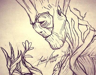 Im Groot (sketch 5 min)