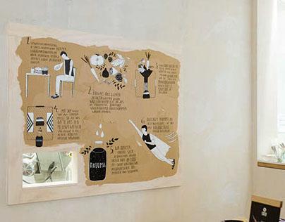 Daluma Shop-Illustration