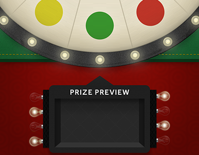 Roulette Type HTML5 WebGL Game