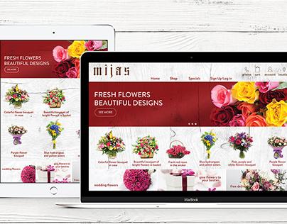 Mijas Flower Website & App