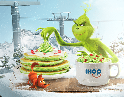 IHOP® Middle East – The Grinch Movie - Social Media