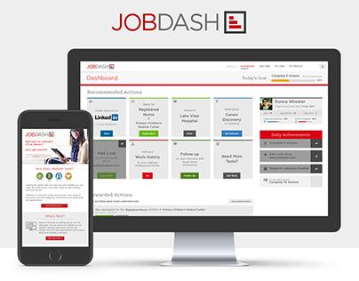 JobDash UX/UI Design