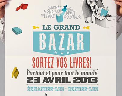 Bazar du livre - Journée Mondiale du livre
